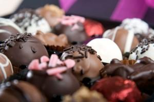 פרלינים משוקולד